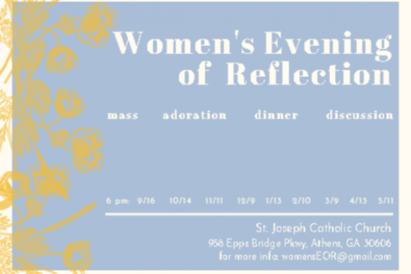 Women's Evening of Reflection